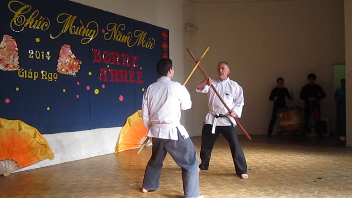 Combat bâton